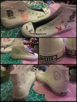 MSPA themed shoes by Smutppet