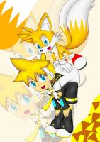 Len and Tails by irzhie
