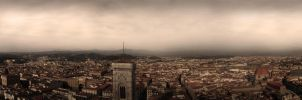 Fog over Florence by aajohan