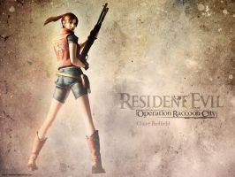 Claire R. wallpaper RE: O.P. 2 by Claire-Wesker1