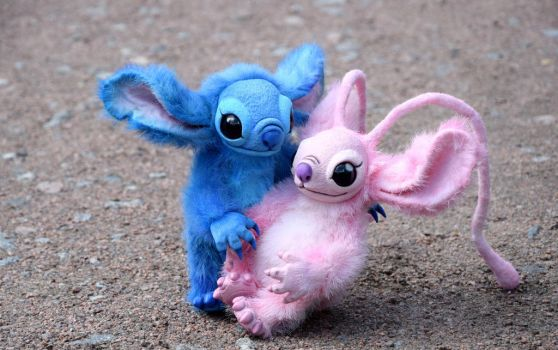Stitch from Lilo and Stitch by monkeybusinesstoys