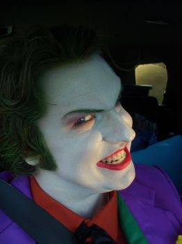 Joker Cosplay- On The Way Home from Wizard World by JackSkelling10