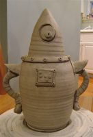 unfinished robot cookie jar 3 by thebigduluth