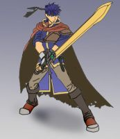Super Smash Bros: Ike by lydiascats