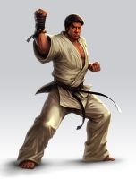 Karate Fighter by lordeeas
