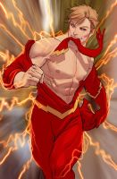 ladies he might be the fastest man alive.... by nebezial