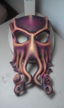 Another Cthulhu mask by ParkersandQuinn
