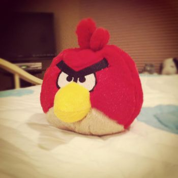 Angry Bird by theultimategamergirl