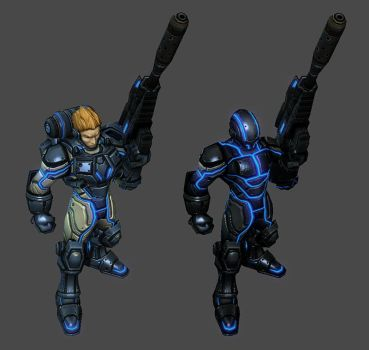 Terran Ghost Variations by PhillGonzo