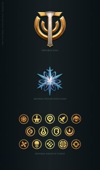 Skyforge. Logos by Andead