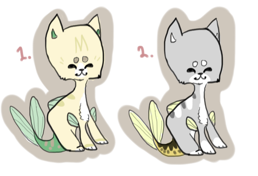Fishcat Adopts - auction -open by bubbleskitty123