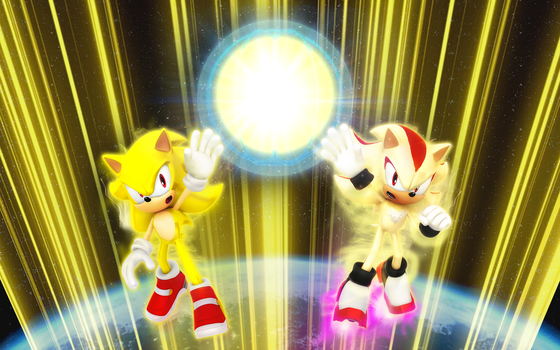 THE PLANETS LAST HOPE SONIC AND SHADOW UNITE TextL by Nibroc-Rock