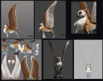 Concept to 3d by Sythgara