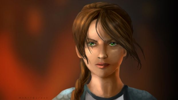 Katniss (The Hunger Games) by MsArtGarden
