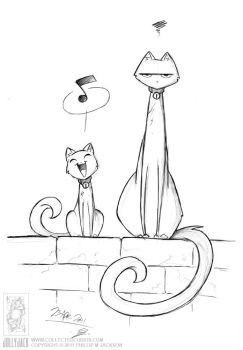 Cat Song by jollyjack