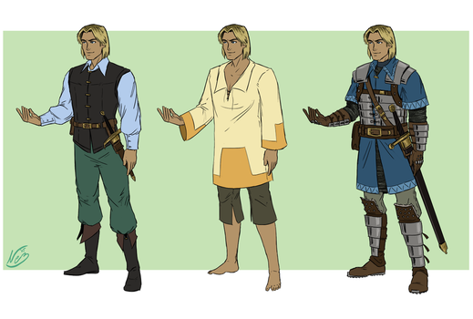 Ever Hollow - Kevin Outfits by Wazaga