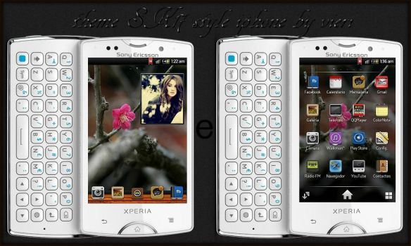 theme SK17 style iphone by vieri7