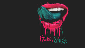 Falling in Reverse Lips Wallpaper by krsapinit
