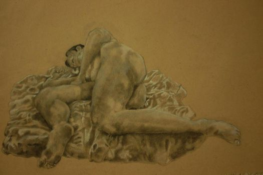 reclining figure by Rich-Masses