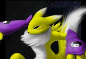 Renamon by MadCookiefighter