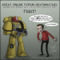 Great Online Forum Deathmatches by wibblethefish