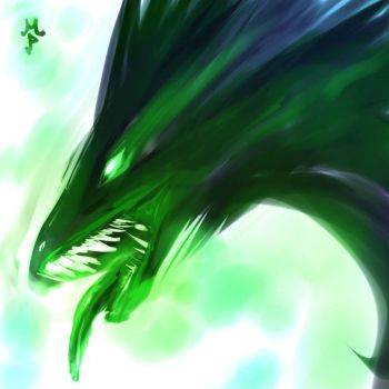 Dota Viper Color by ManiacPaint
