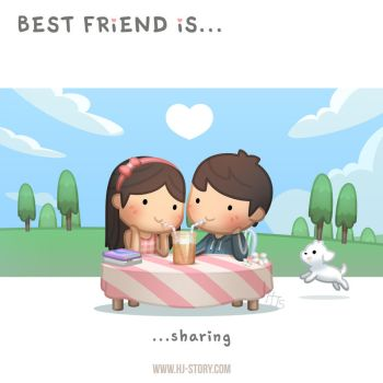 BFF Ep. 2 Best Friend is... Sharing by hjstory