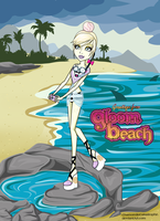 Monster High OC: Gloom Beach Willow Wisp by MsChamomile