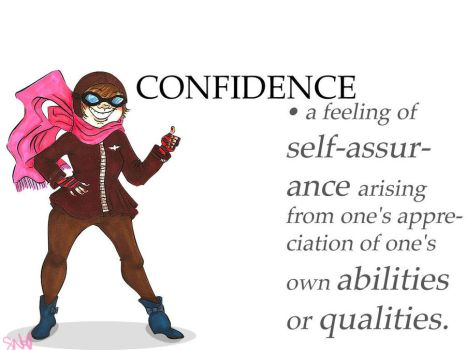 Confidence gets a boost by savvy-weasley
