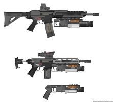 LCT1 grenade launcher by Xrayleader