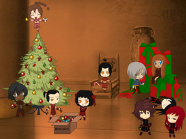 A Fire Nation Christmas by bluraven401