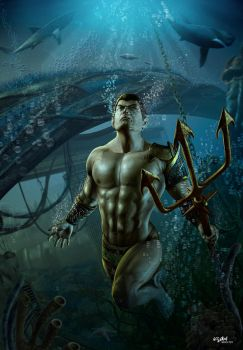 NAMOR - PRINCE OF THE DEEP by ISIKOL