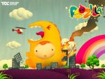 POOZILLA Destroy  Town by theotherculture