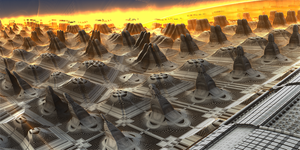 Ancient missile field by KPEKEP