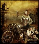 Steampunk Explorers by Metadored