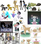 OP All doodles by Nire-chan
