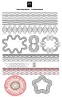 Guilloche Pattern Brushes by vectorgeek