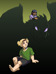 The Dragon and the Puppy by ErinPtah