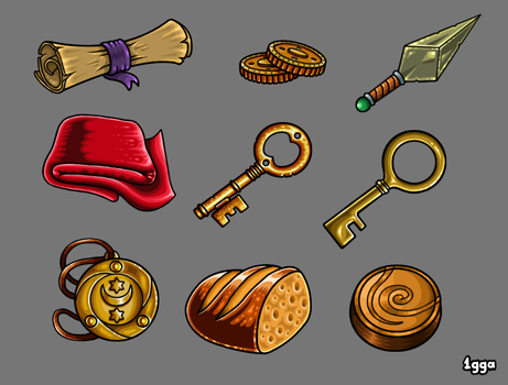 Quest Items by 1gga