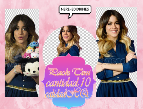 Pack:Martina Stoessel by NereJaquelines