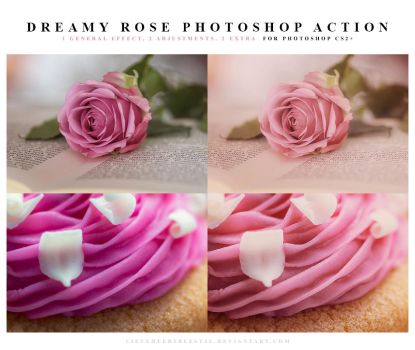 Dreamy rose Photoshop Action by lieveheersbeestje