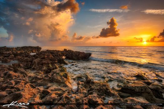 Coral-Cove-Sunrise-at-Jupiter-Island-South-Florida by CaptainKimo
