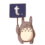 Totoro Tumblr by Yiamme