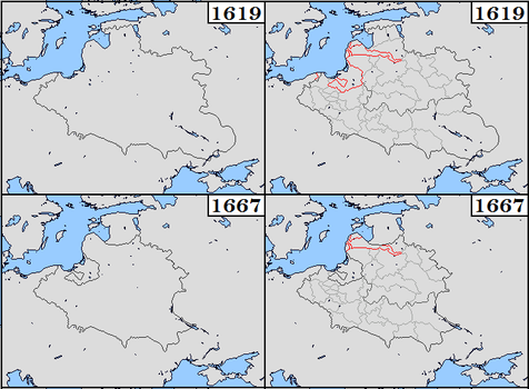 Polish Lithuania (1619-1768) by Sharklord1