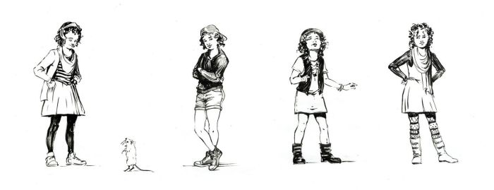 Developing Alice: Brush Sketches by outsidelogic