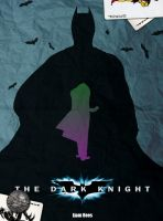 The Dark Knight Retro Poster by LTRees