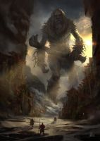 Monster Out of the Woods by sinakasra