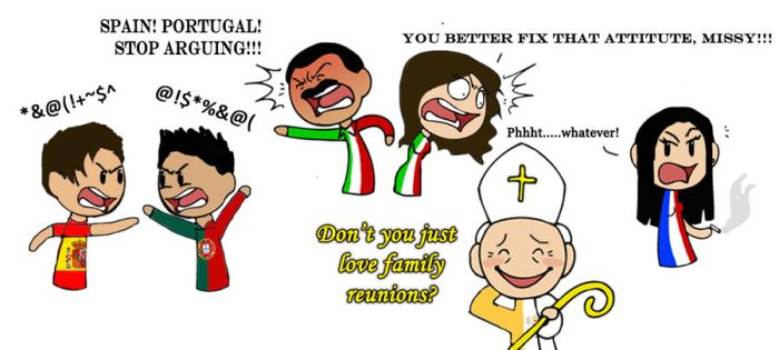 Italy's Family Reunion by ShrapnelLeader