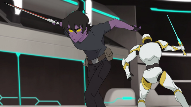 Galra Keithin eary stage of morph by DarknessAndMadness