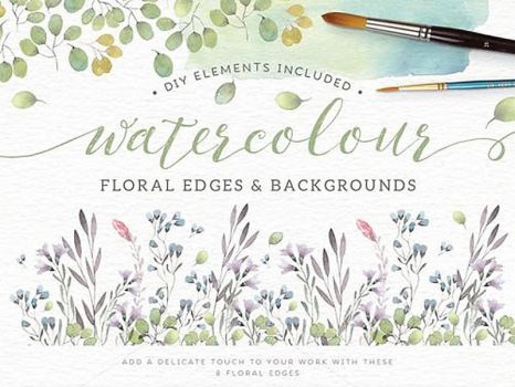 [COLLECT] Flower Watercolour #1 by LittleLeaf2k
